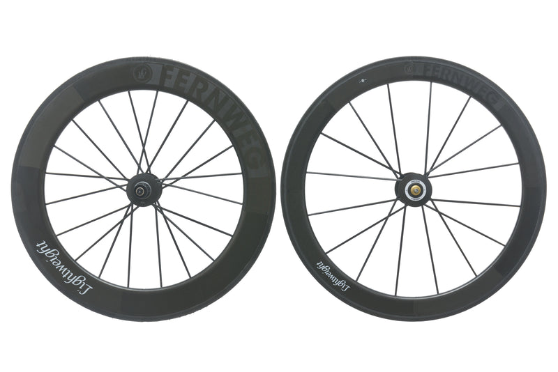 Lightweight Fernweg Carbon Tubular 700c Wheelset non-drive side