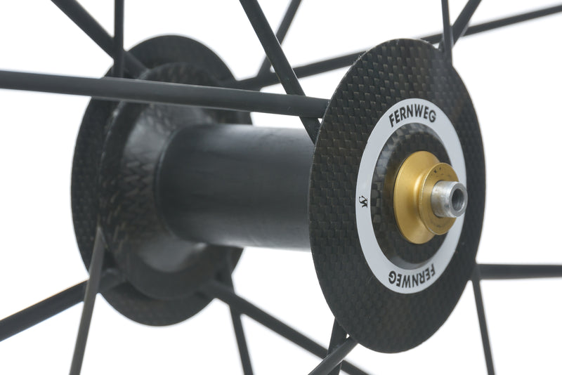 Lightweight Fernweg Carbon Tubular 700c Wheelset sticker