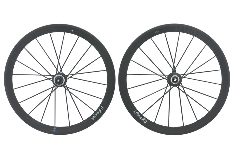 Lightweight Meilenstein Carbon Disc Brake Clincher 700c Wheelset drive side