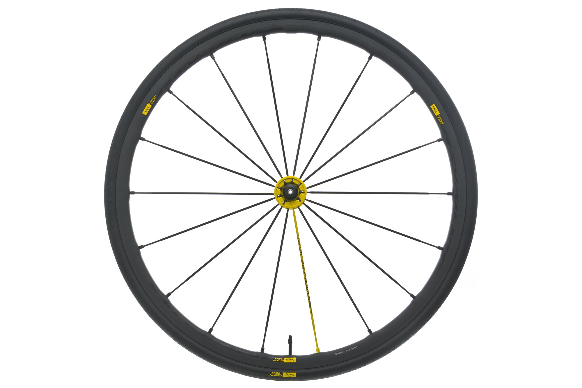 Mavic Ksyrium 125 Aluminum Clincher 700c Front Wheel drive side