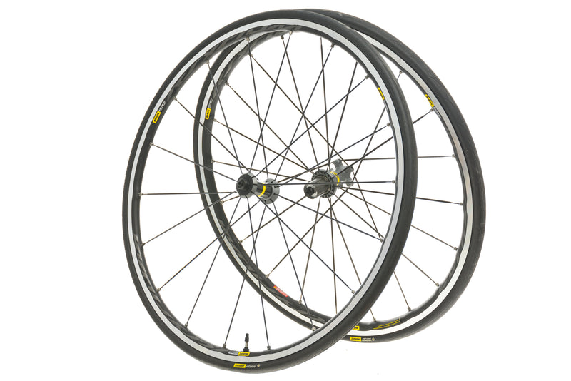 Mavic Ksyrium Elite UST Aluminum Tubeless 700c Wheelset drive side