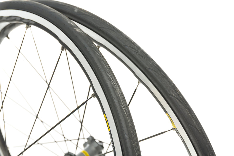 Mavic Ksyrium Elite UST Aluminum Tubeless 700c Wheelset front wheel