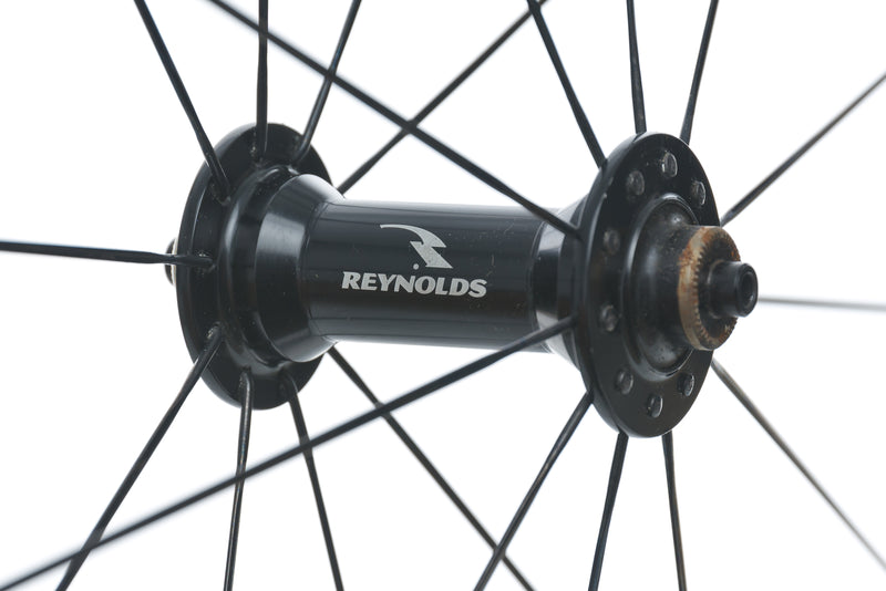 Reynolds DV46 UL Carbon Clincher 700c Front Wheel sticker