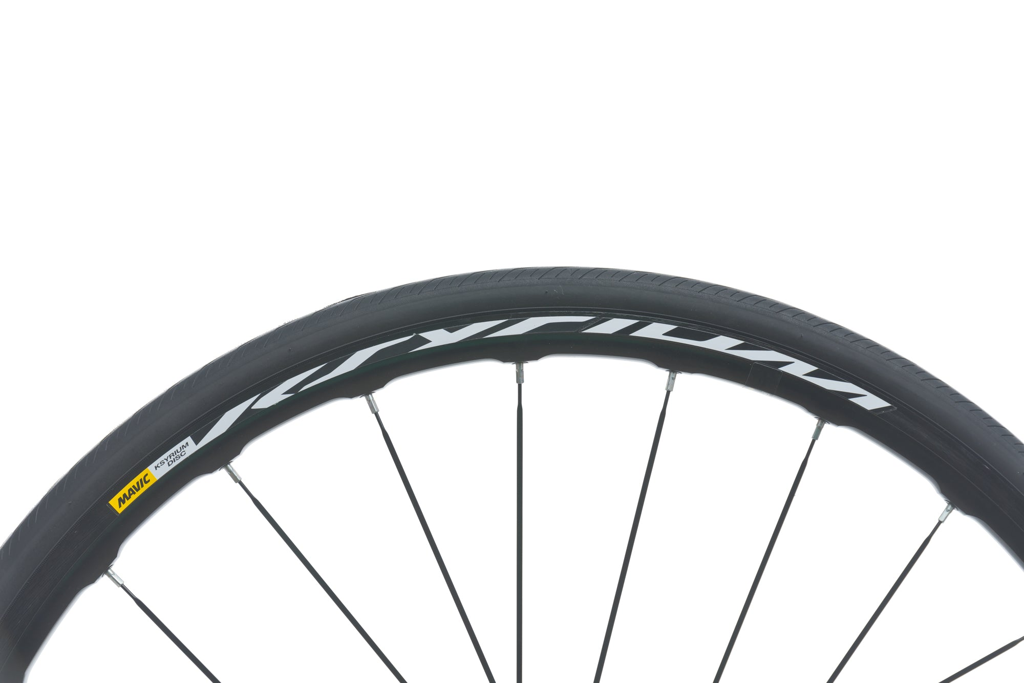 Mavic Ksyrium Disc Aluminum Clincher 700c Front Wheel sticker