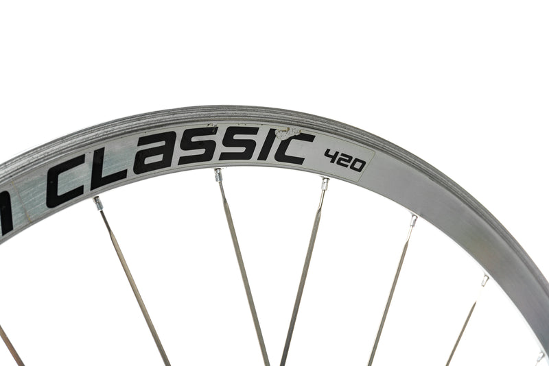 American Classic 420 Aluminum Clincher 700c Rear Wheel cockpit