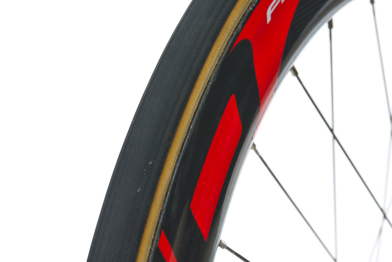 Fast Forward F6 Carbon Tubular 700c Rear Wheel sticker