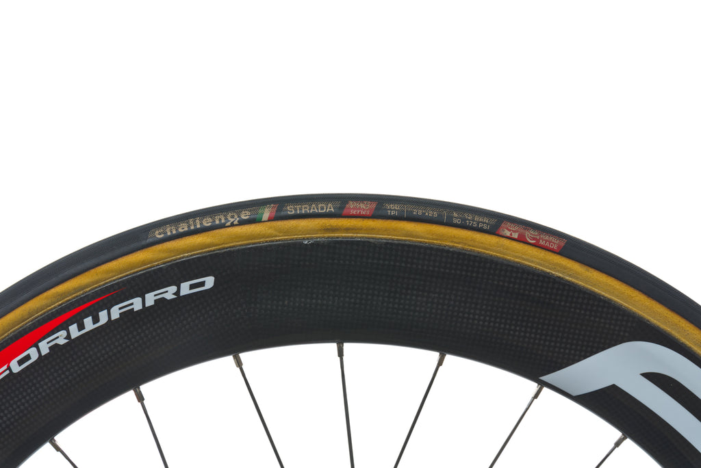 Fast Forward F6 Carbon Tubular 700c Rear Wheel drivetrain