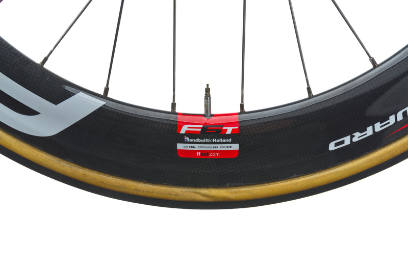 Fast Forward F6 Carbon Tubular 700c Rear Wheel front wheel