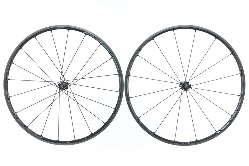 Shimano WH-RS81 Carbon Alloy Clincher 700c Wheelset drive side