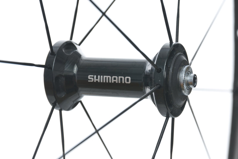 Shimano WH-RS81 Carbon Alloy Clincher 700c Wheelset sticker