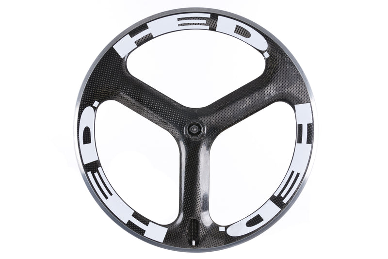 HED Tri Spoke Carbon Clincher 650c Rear Wheel drive side