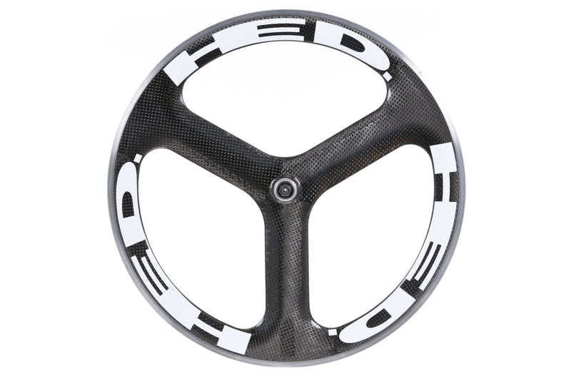 HED Tri Spoke Carbon Clincher 650c Rear Wheel non-drive side