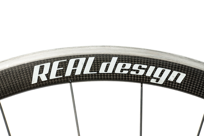 Real Design Ultrasonic 40 Carbon Clincher 700c Wheelset cockpit