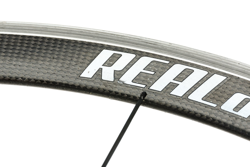 Real Design Ultrasonic 40 Carbon Clincher 700c Wheelset detail 2