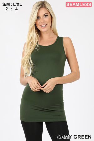 Zen Seamless Tunic Length Tank