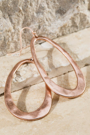 Hammered Metal Earrings!