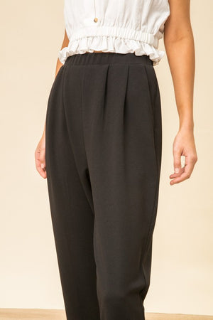 Tapered Crepe Trousers!