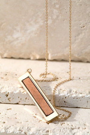 Wood Bar Necklace!