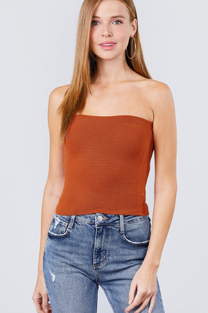 Knit Tube Top!