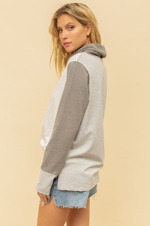 Mixed Stripe Pullover!