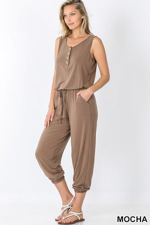 Sleeveless Jogger Jumpsuit! (2)