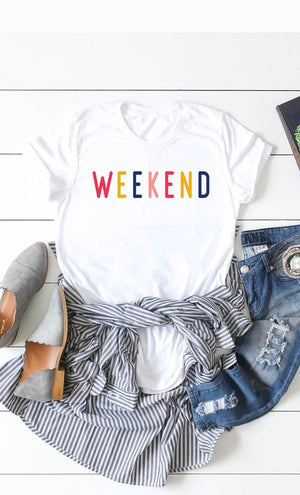Weekend Graphic Tee!