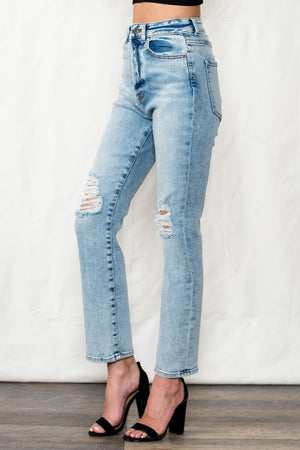 SP High Rise 90's Style Relaxed Jean!