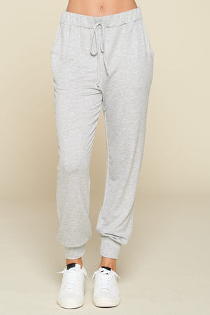 Solid Lounge Wear French Terry Joggers!