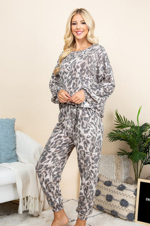 Casual Animal Print Joggers!