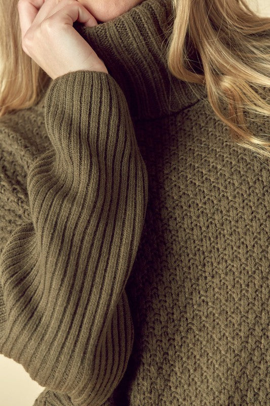 Chunky Knit Sweater!