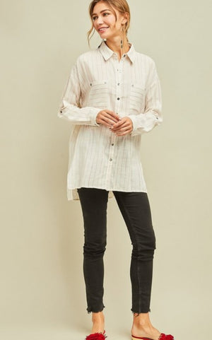 EN Long Sleeve Button Up!