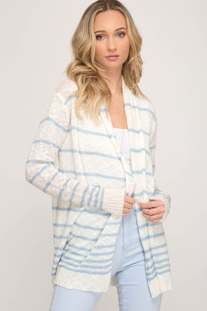 Spring Open Front Cardigan!