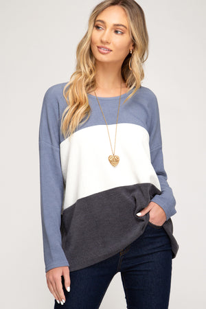 SS Color Block Top!