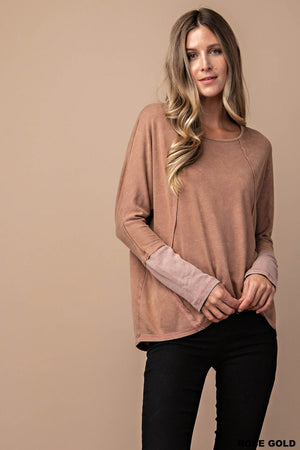 Long Sleeve Mineral Wash!