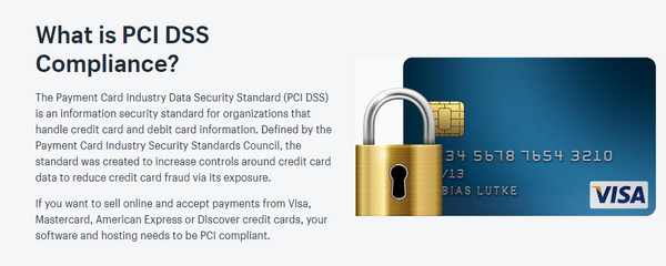 What is PCI Compliance - just say tees