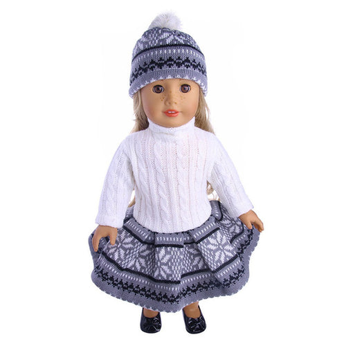 Adrianna Snuggly Baby Girl w Outfit - Toys - Just Say Tees