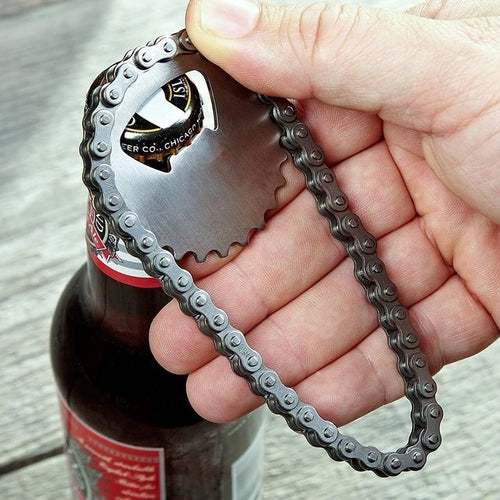Bike Chain Bottle Opener - Gifts - Just Say Tees