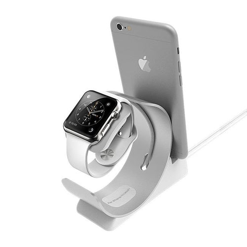 Apple Watch iPhone Charging Stand Bracket - Gifts - Just Say Tees