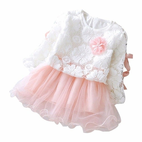 Autumn Infant Baby Kids Girls Clothes Party Lace - Kids & Babies - Just Say Tees