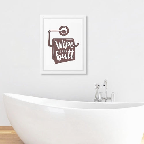 Canvas Posters Featuring Bathroom Quotes - Home & Garden - Just Say Tees