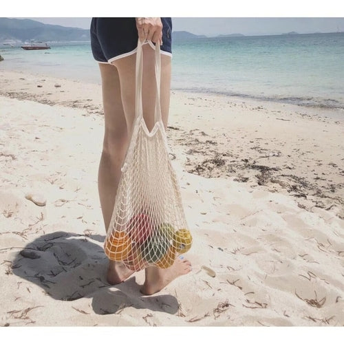 Hot Sale Shopping Bag Women Female  Reusable Fruit - Just Say Tees