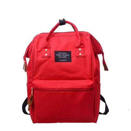 TOP brand Unisex women men Solid Backpack School - Bags & Wallets - Just Say Tees