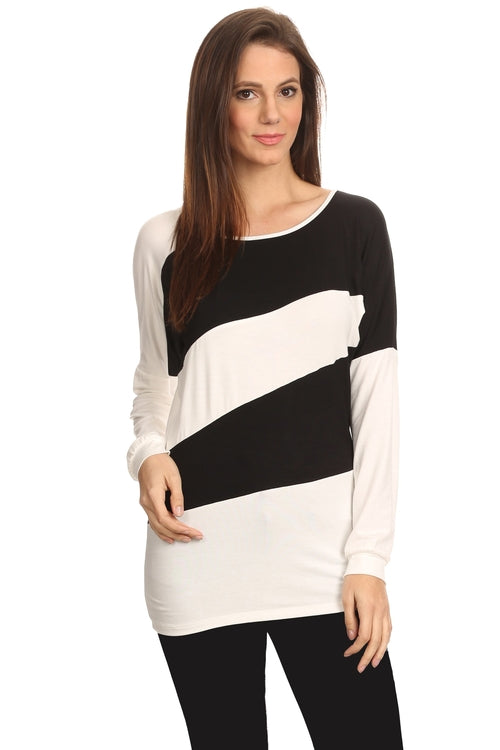 Women's Striped Long Sleeve Shirt Summer - Women's Clothing - Just Say Tees