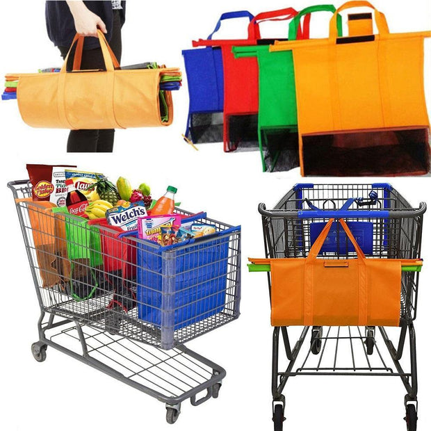 Grocery Cart Shopping Bag (With Cooler)