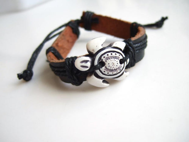 Tribal Turtle Bracelet