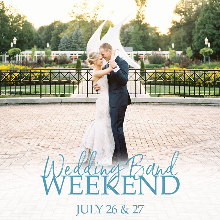 Wedding Band Weekend | July 26 & 27