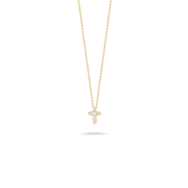 Diamond Baby Cross Pendant