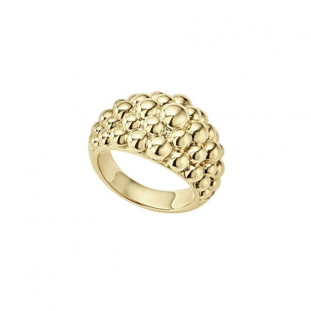 Caviar Gold Bold Ring