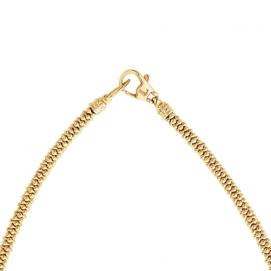 Caviar Gold Necklace (3mm)