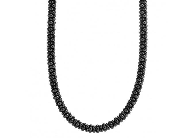 BLACK CAVIAR BEADED NECKLACE